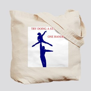 try a star lift Tote Bag